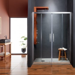 VERSUS Συρόμενη Πόρτα Εισόδου Τετράφυλλη